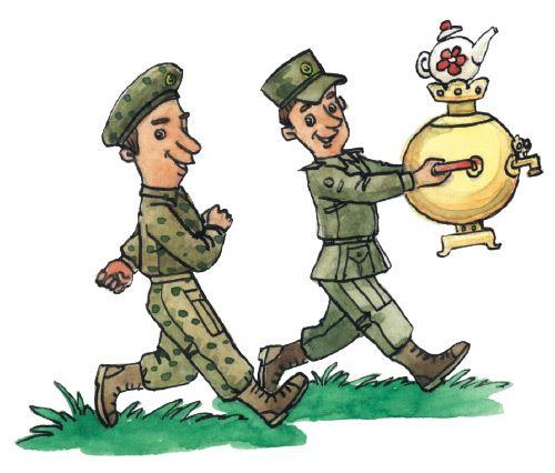 Аты баты шли солдаты рисунок своими руками